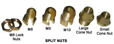 Connecting - Split Nuts-Connecting Split Nuts